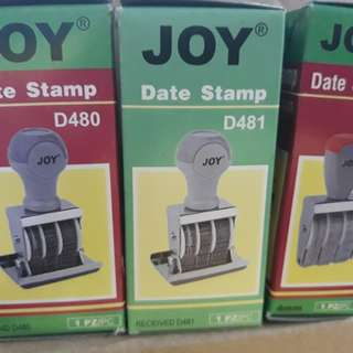 stamp pad 🔹️date 🔹️receive 🔹️paid