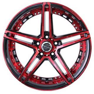 """18 wheel legend designer rim"