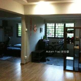 HDB 3 room corner unit