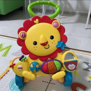 Fisherprice Lion Musical Walker