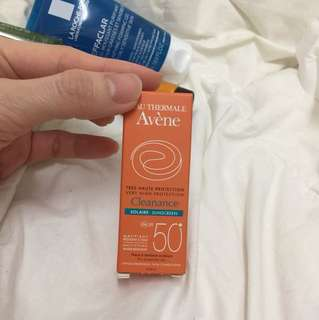 Avene cleanance sunscreen spf 50+