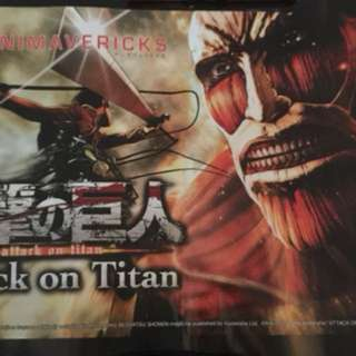 Attack On Titan Game Poster