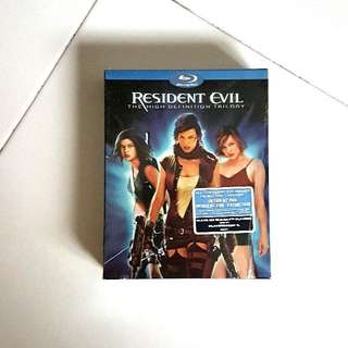 WTS: Resident Evil Trilogy Bluray <Pre-Owned>