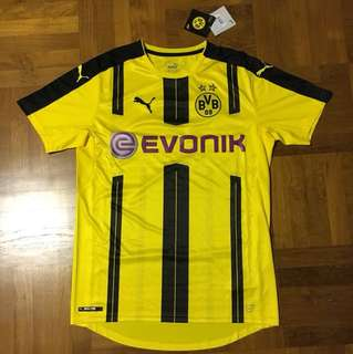 BORUSSIA DORTMUND - previous season home kit