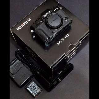 Fujifilm Xt-10 (xt10 fuji black body) /w L bracket