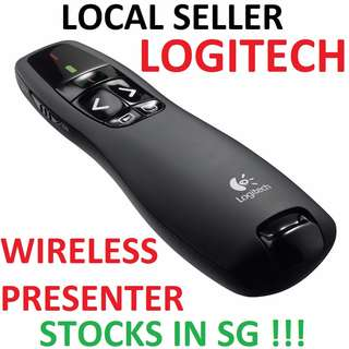 ⚡️ Logitech Wireless Presenter R400