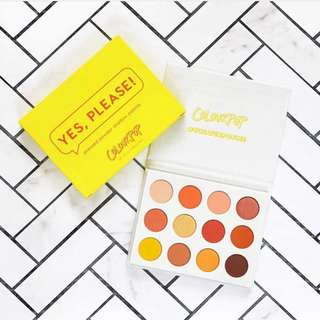 (INSTOCK) COLOURPOP MOST POPULAR YES PLEASE PALETTE INSTOCK
