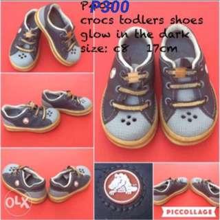 pre-loved crocs shoes for todlers babies kids