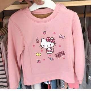 Hello kitty pull over sweater