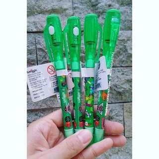 Smiggle Duo Spy Marker Pen Green