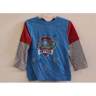 Paw Patrol Long Sleeves for little boys