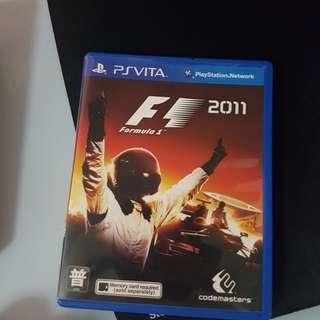 Psvita Game F1 2011