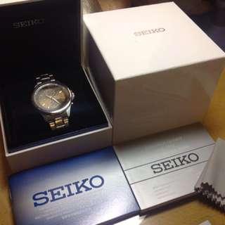 SEIKO men's chronograph watch SNDE33P1