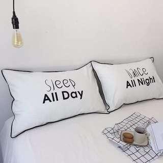Sleep All Day / Dance All Night 枕頭套