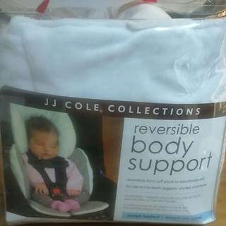 JJ Cole Pram Body Support With Strap Covers