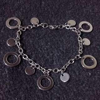 Stainless Charm Bracelet