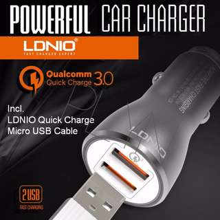 FREE POSTAGE Fast Car Charger Qualcomm 3.0