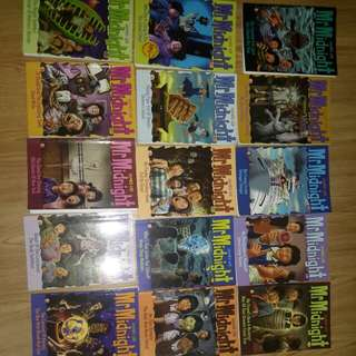 Selling tons of Mr midnight books 2/$1