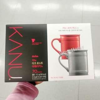 🇰🇷Maxim Kanu Dark Roasted Americano 70 sticks 哥倫比亞美式咖啡