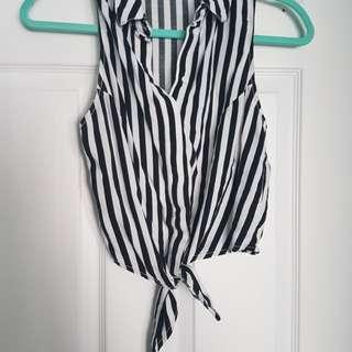 ⚠ℹGarage Striped Top