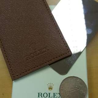 Rolex 卡片套 鋼片鏡面