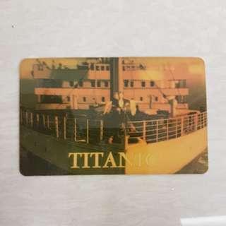 Titanic International Calling Card