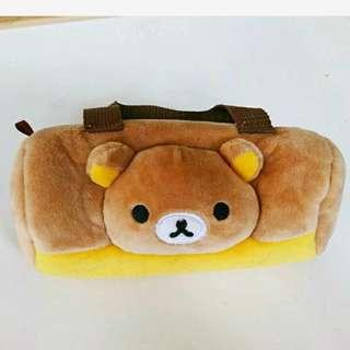 🚚 拉拉熊筆袋 (近新品,下水洗過(