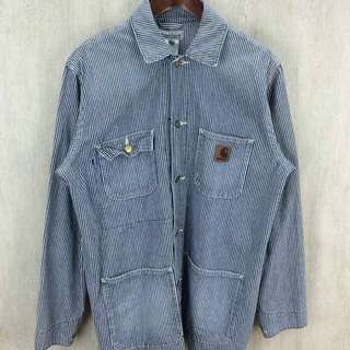 Carhartt 稀有條文 日本古著 條文 工裝 外套 夾克