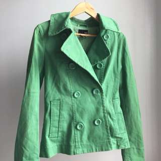NEW H&M Green Jacket