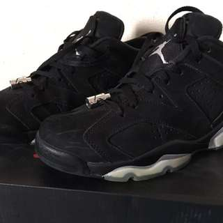 Nile Air Jordan 6 Retro Low Chrome