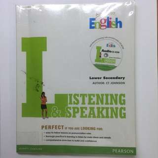 Listening and Speaking for Lower Secondary
