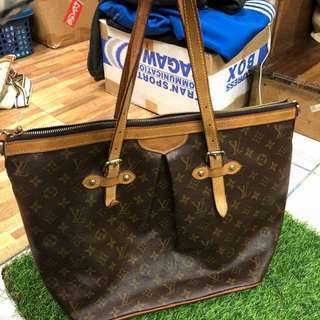 Authentic LV palermo gm