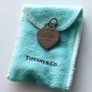 Authentic Tiffany & Co. heart tag