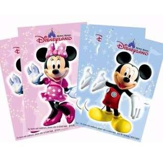 徵求二手香港迪士尼入場門票