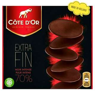 Cote D'or Extra Fin Pure Intense 70%