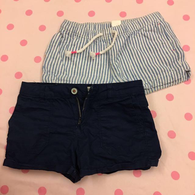 兒童短褲*2件(可拆賣) #我的嬰幼可超取