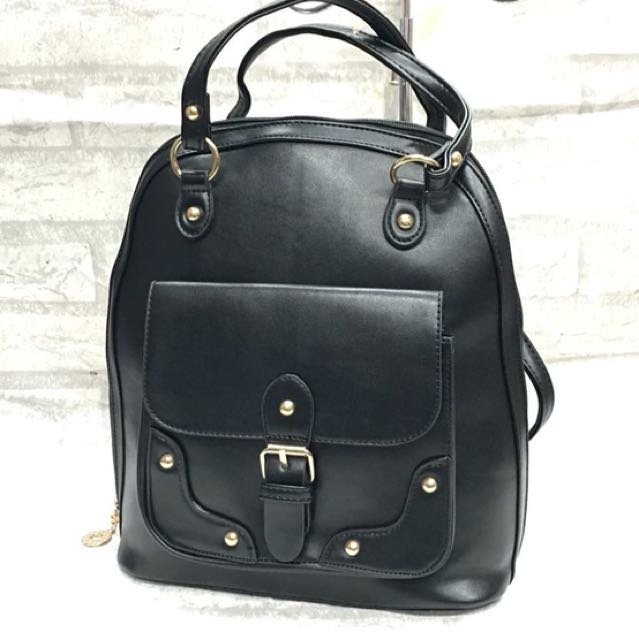 3-Way Leather Bag