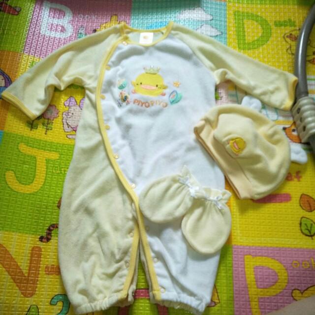 黃色小鴨寶寶服6M