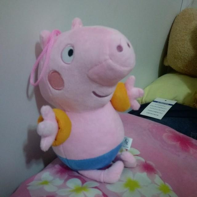 佩佩豬的弟弟喬智豬娃娃