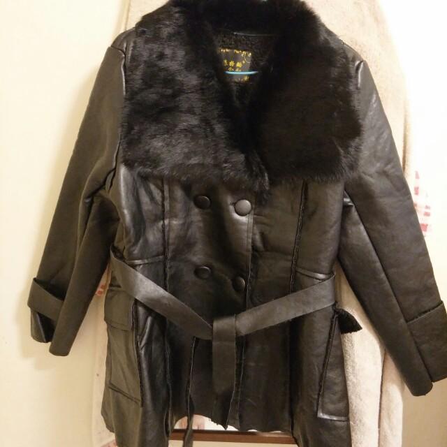 全新  皮外套