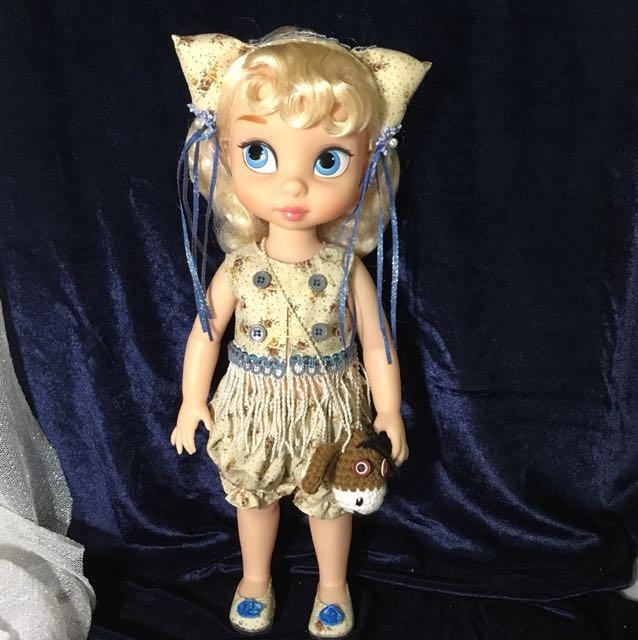 (特價)沙龍娃娃 迪士尼公主 套裝