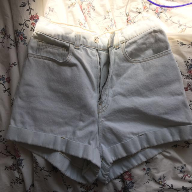 •• (American Apparel) High Waisted Shorts