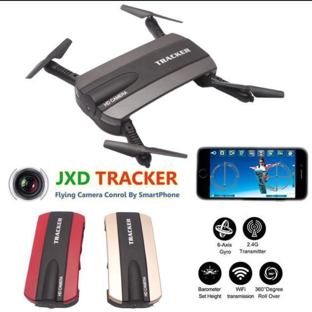 Jxd 523 Foldable Drone With Camera Phone Control Fpv Quadcopter Rc Helicopter Wifi Mini Dron Tracker Vs Jjrc H37 Selfie Drone, Toys & Games, ...