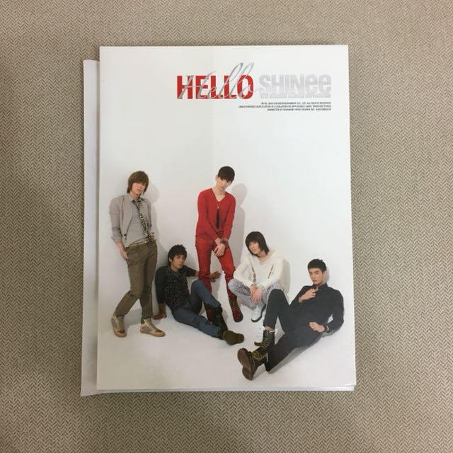 [換/售] SHINee Hello 台壓版專輯