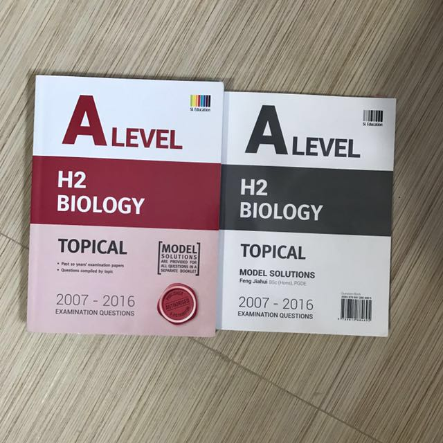 A LEVEL H2 BIO TOPICAL TYS 2007-2016