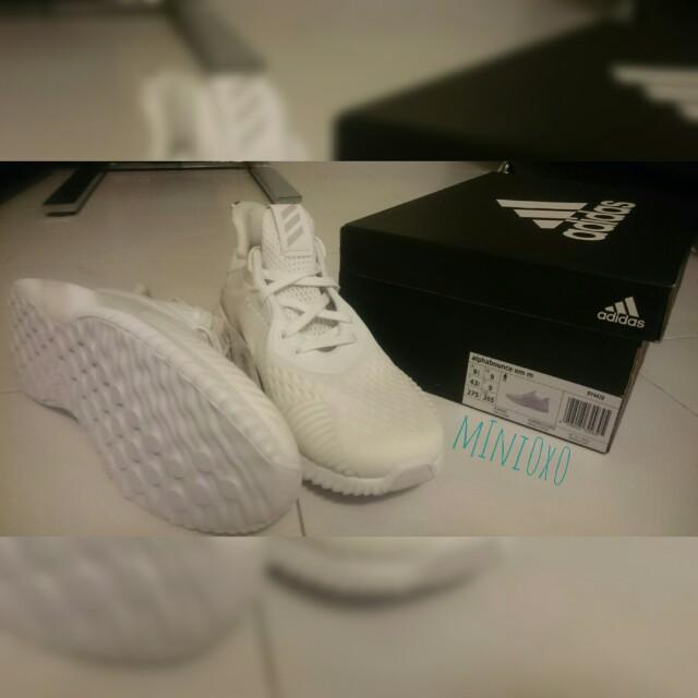*Adidas Alphabounce EM BY4426* 男裝 跑鞋 波鞋 運動鞋 休閒鞋
