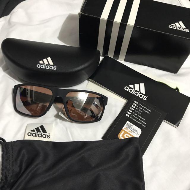 Adidas Matte Black Sunglasses