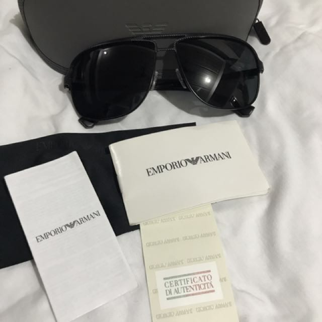 Armani Sunglasses all black