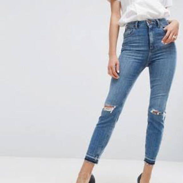 Asos Farleigh Jeans size 25