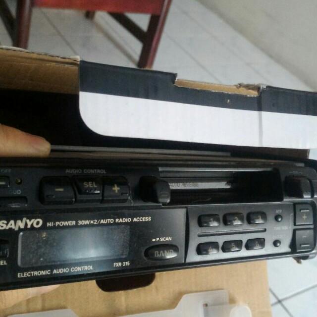 Audio tape mobil copotan hyundai